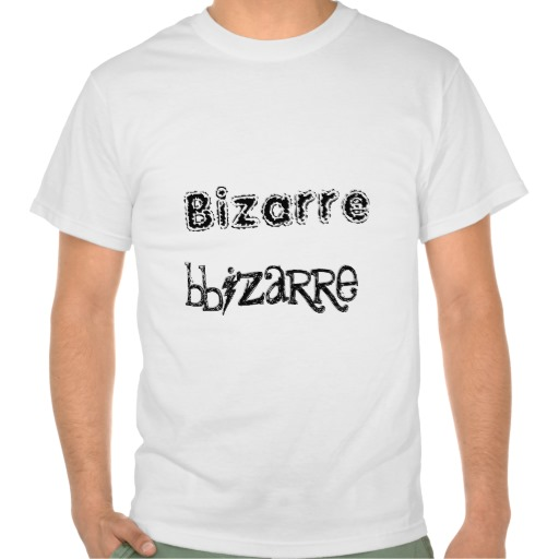 Bizarre Bizarre Headless Zombie Space Alien T Shirt