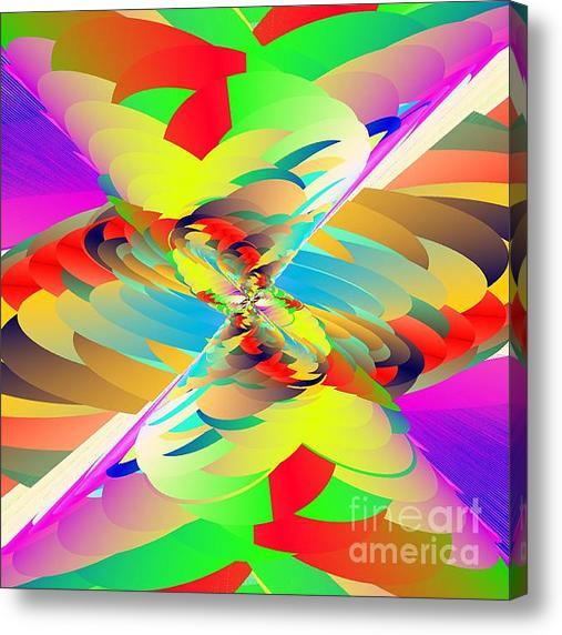 Rainbow Tornado Acrylic Print By Michael Skinner