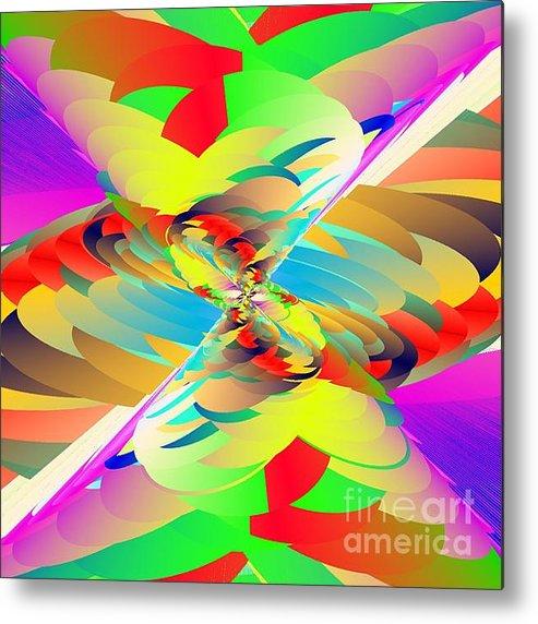 Rainbow Tornado Metal Print By Michael Skinner