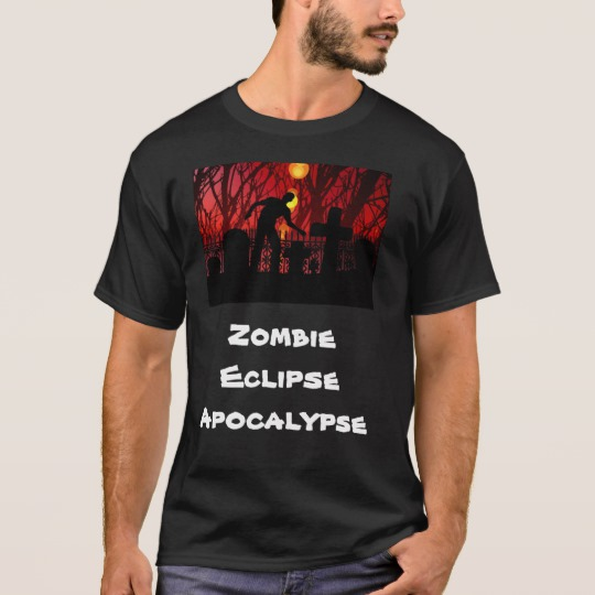Zombie Eclipse Apocalypse T-Shirt