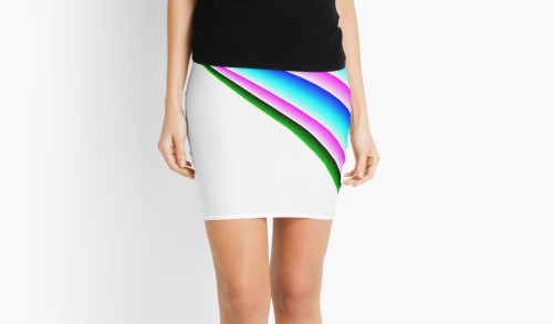 Rainbow Road:  Linear Rainbow  by zedpower