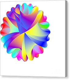 Rainbow Cluster Canvas Print by Michael Skinner