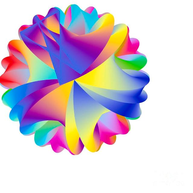 Rainbow Cluster Digital Art by Michael Skinner