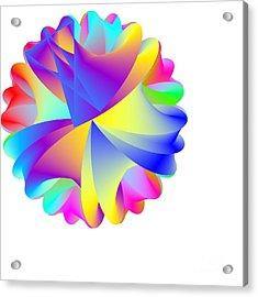 Rainbow Cluster Acrylic Print by Michael Skinner