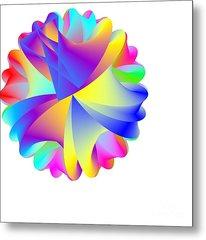 Rainbow Cluster Metal Print by Michael Skinner